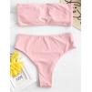 Бандо в нежном розовом цвете 1200