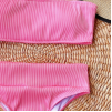 Розовое завышенное бандо 2020 1205