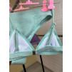 Фиолетовый завышенный купальник 1206